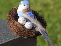 Гнездо из веток: 135 фото и видео мастер-класс изготовления больших и маленьких птичьих гнезд
