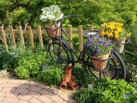 Украшения для сада — 120 фото и видео описание проектирования и создания оригинального оформления сада