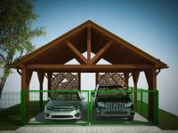 Деревянный навес — 115 фото и видео как построить красивый и практичный деревянный навес