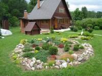 Дизайн участка загородного дома — правила оформления, стильные варианты украшения и оригинальные идеи дизайна