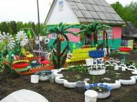 Новинки поделок для сада — 145 фото интересных идей оформления сада и участка частного дома