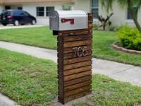 Почтовый ящик своими руками — лучшие модели и советы по использованию красивых ящиков (105 фото)