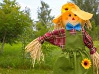 Пугало в сад — 140 фото и видео описание креативных идей и советы как смастерить пугало своими руками