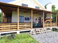 Терраса на даче: проектирование, постройка и советы по выбору дизайна (125 фото и видео)