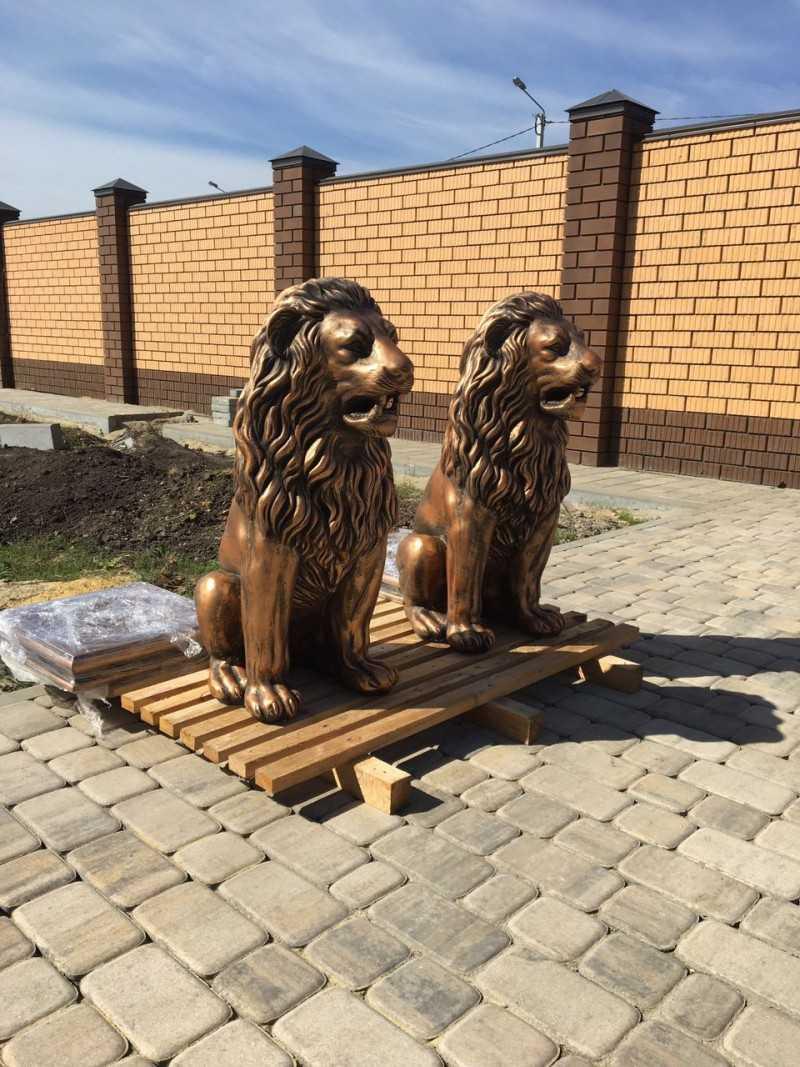 Скульптуры для сада своими руками